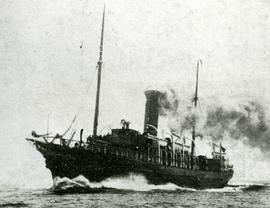 S.S. Bruce I entering North Sydney harbour
