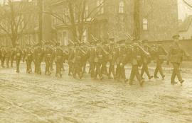 """B"" Company marching"