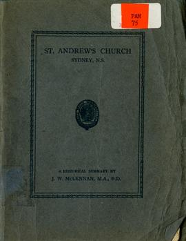 St. Andrew's Church, Sydney, N.S.