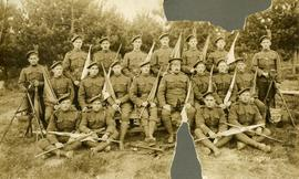 Signalling Section, 185th Battalion, CEF