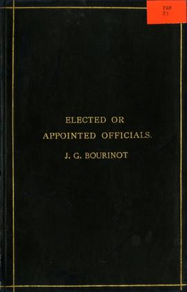 Elected or Appointed Officials?