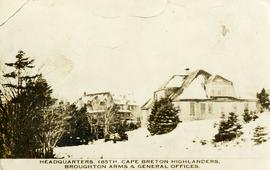 185th Cape Breton Highlanders Headquarters, Broughton
