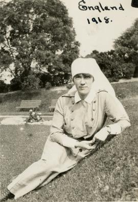 Mary Belle MacNeill, England, 1918