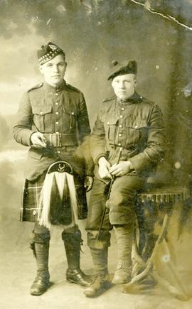 Cape Breton Members of the Canadian Army