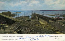 Nova Scotia Steel and Coal Company piers