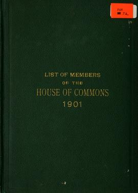 List of Members of the House of Commons 1901