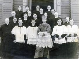 Most Rev. James Morrison and Group of Priests