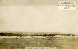 Aldershot Military Camp
