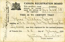 Canada Registration Board fonds