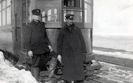Cape Breton Electric Company Tram conductor and motorman