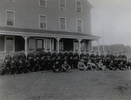 Troops Stationed at Marconi Station, Louisbourg