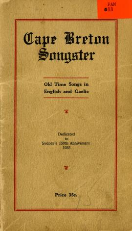 Cape Breton Songster: old time songs in English and Gaelic