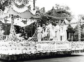 Chinese float, Centennial parade