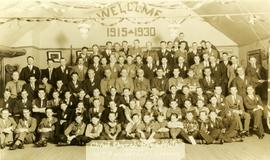 Christ Church Boy Scouts, 15th anniversary reunion