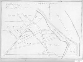 Plan of Lots on West Side of Waugh's River