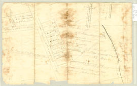 Plan of lot sold, John Clark
