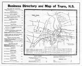 Business Directory & Map of Truro, 1930