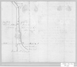 Letter and Plan to William Patterson, 1868