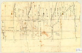 Grant Map, East Folly Mountain, 1868