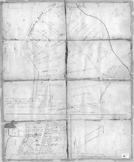 A Plan of Lands in Folly Village, 1850
