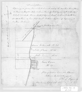 Plan of 20 Acres to Alexander Matheson, 1866