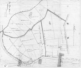 A Plan of Lands in Follie Village, 1850