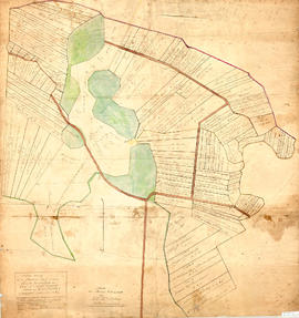 Plan of Masstown Marsh, 1863