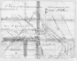 Plan of Lots on West Side of Waugh's River, 1848