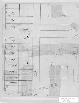 Plan of George Clark Lot and Others