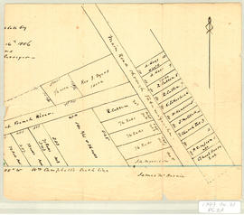 Part of a Map of William Campbell Lot, 1856