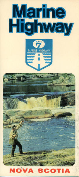 Eastern Shore Tourist Association Route 7 Marine Highway brochure