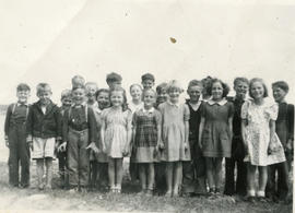 West Jeddore school children