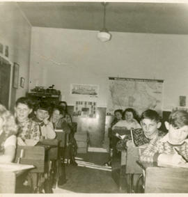 Classroom, West Jeddore School