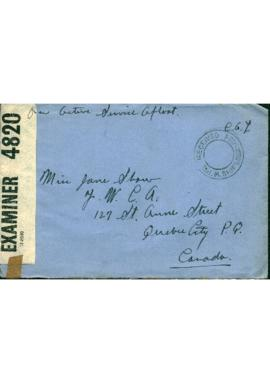 Letter from C. Anthony Law to Jane Shaw Law : [30 September 1941]