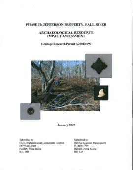 """Phase II: Jefferson Property, Fall River"""
