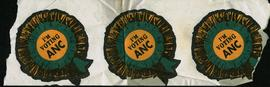 """I'm Voting ANC"" : [stickers]"