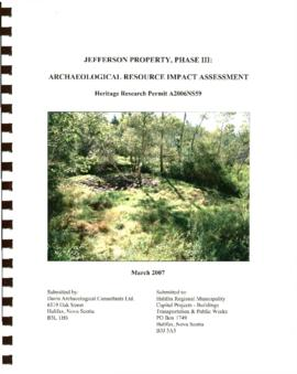"""Jefferson Property: Phase III"""